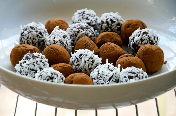 Choco Energy Balls