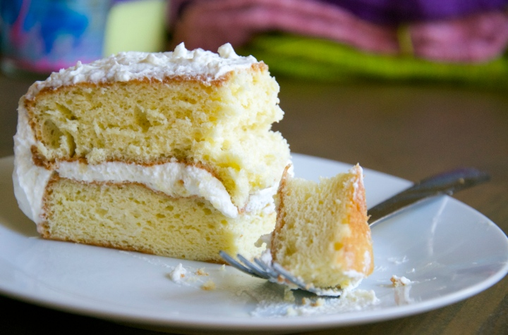 Pastel Tres Leches Cake