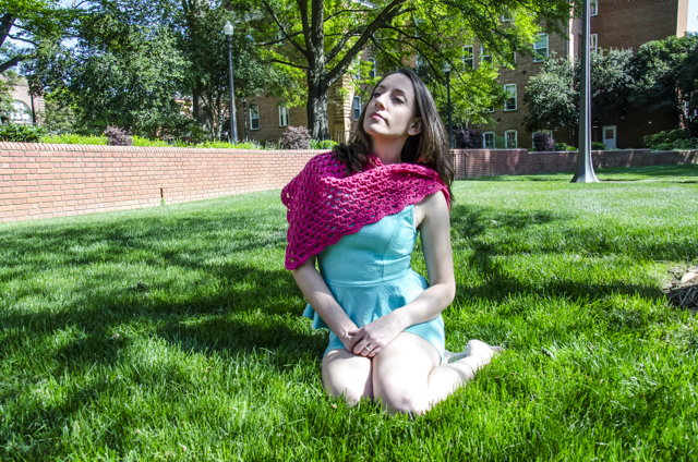 Learn to Crochet a Shawl!