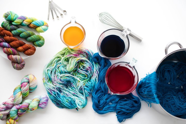 Professional Yarn Dyeing at Home…an Interview
