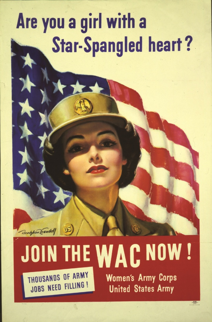 Where are the WWII service patterns for women?