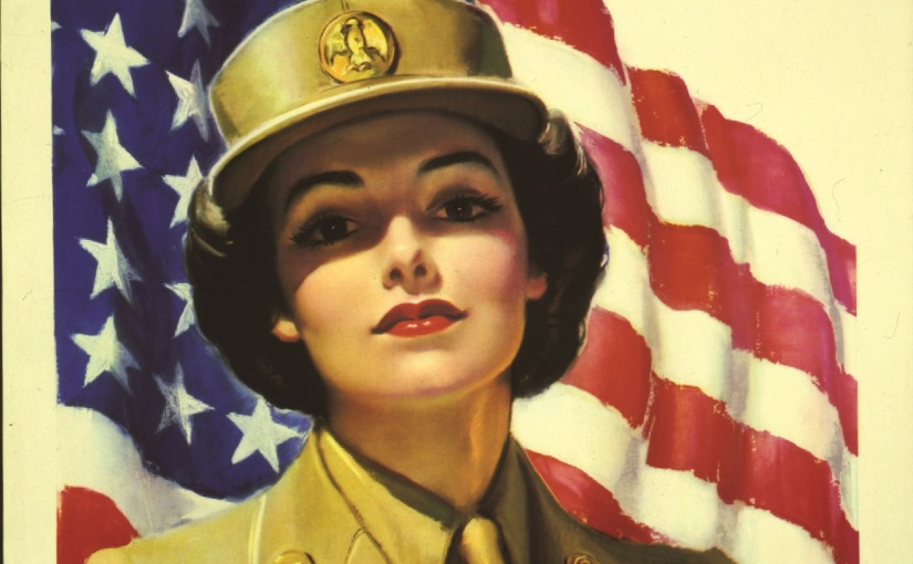 Where are the WWII service patterns forwomen?