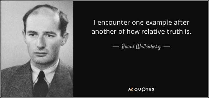 Let Me Tell You About Raoul Wallenberg…