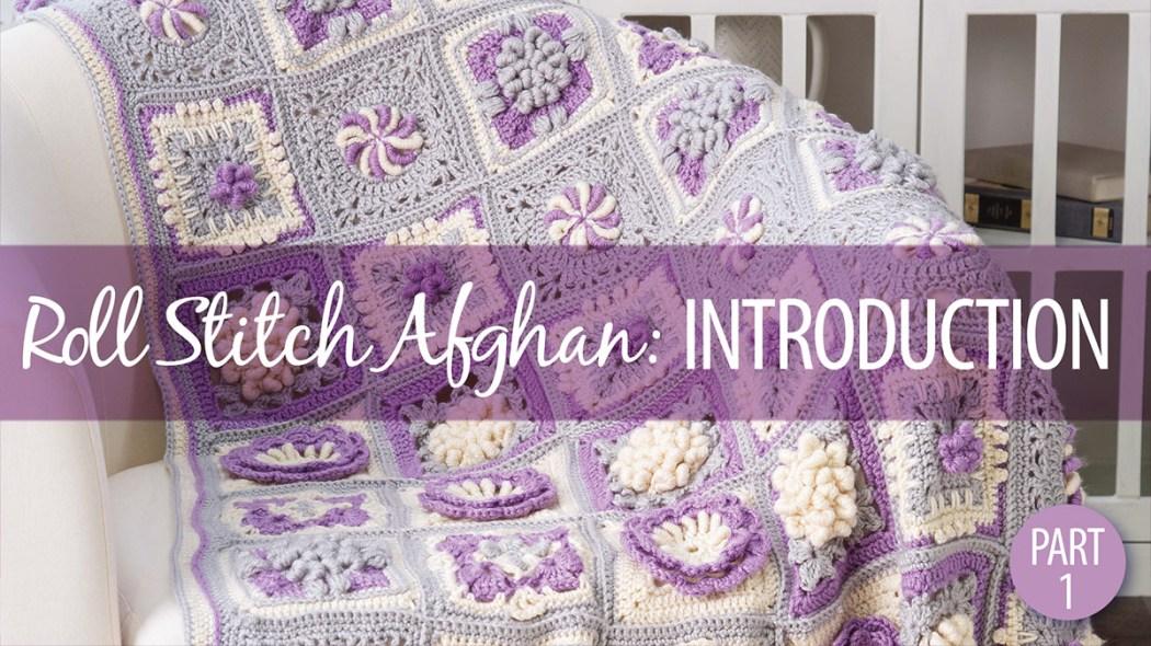 Free Pattern Friday Adalyn Rose Afghan Block Rohn Strong
