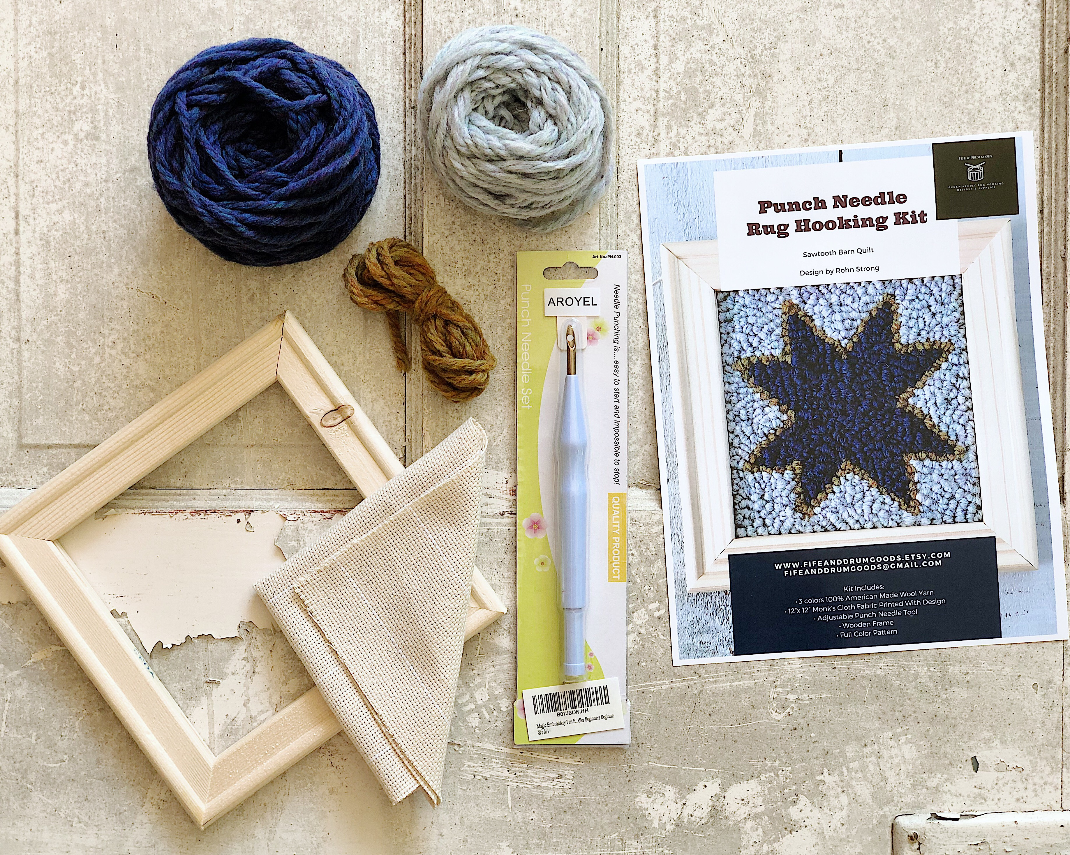 Punch Needle Kits are HERE! – Rohn Strong