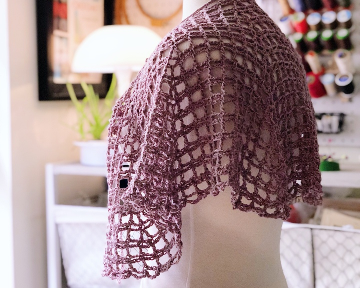 Spring Hope Crochet Shawl – Free Crochet Pattern and Book Review