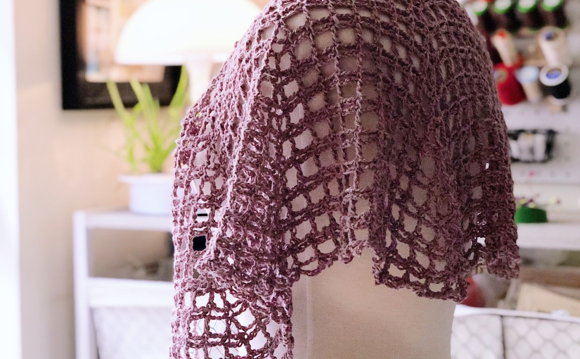 Spring Hope Crochet Shawl – Free Crochet Pattern and BookReview