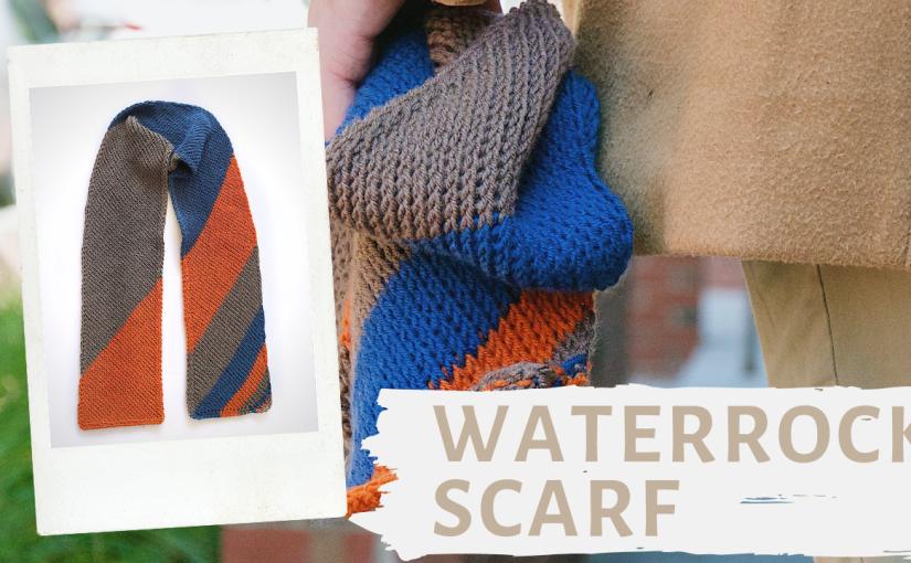 The Waterrock Scarf | An Easy Tunisian CrochetScarf