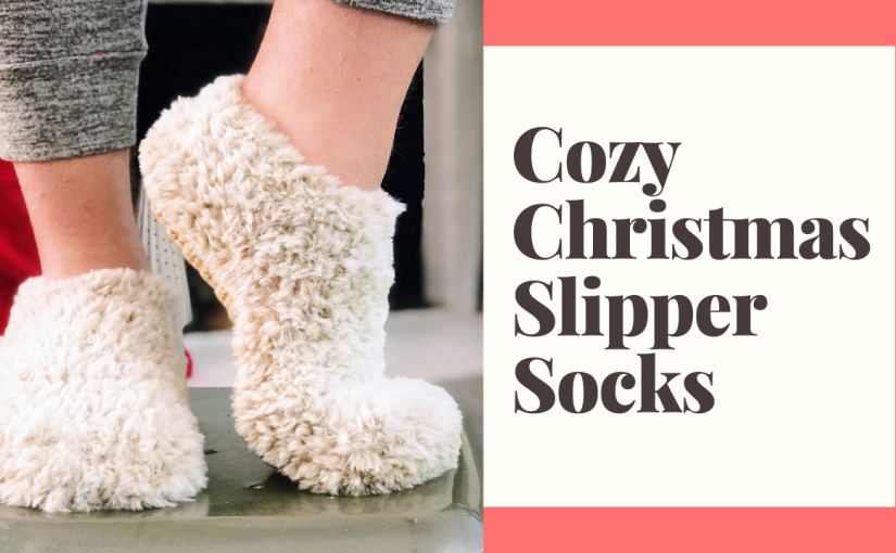 Cozy Christmas Morning Slippers | Rohn Strong's 2019 ChristmasCollection