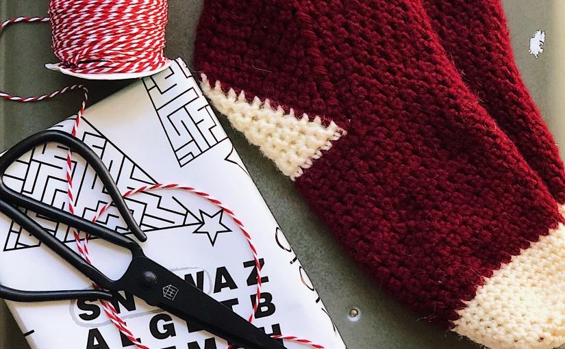 Strong Heel Socks | An Easy Pair of Crochet SlipperSocks