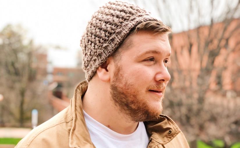 Billow Beanie Free Crochet Hat Pattern forMen