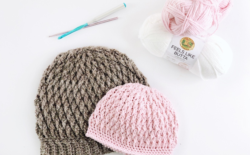 BABY Billow Beanie Free Crochet HatPattern