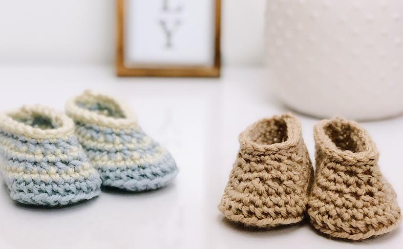 Draper Baby Booties | Free CrochetPattern