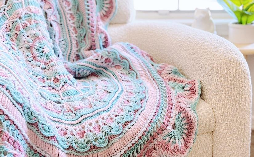 Rohn Strong's 2021 Crochet Along – Summer BlossomMandala
