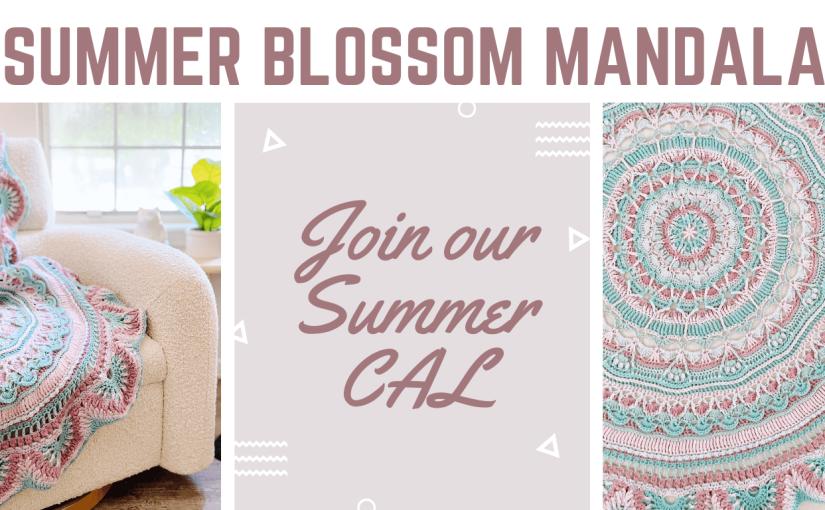 Summer Blossom Mandala – Week2
